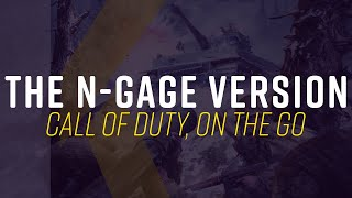 Call of Duty's Noĸia N-Gage Demake