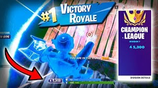 This is how you get over 5000 points in ARENA and WIN! (Fortnite Ranked Mode) | DIVISION 10 GRIND!