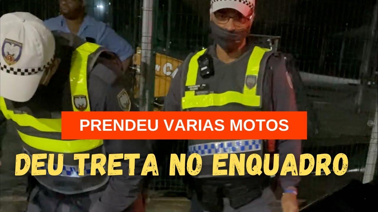 MANDOU PARAR E DESCER DA MOTO