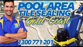 Sealing Pool Pavers | Gold Coast Pool Tiles Sealing