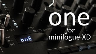 """ONE"" User Oscillator for Korg Minilogue XD"