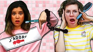 Handcuffed for to My Best Friend for 24 Hours! *Morning Routine*