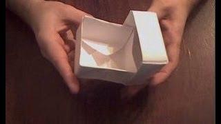 Коробочка из бумаги оригами(По этому видео вы можете коробочку из бумаги, для этого вам понадобится бумага А4. Здесь показано как из..., 2014-01-14T16:18:41.000Z)