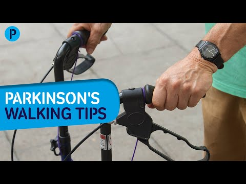 Parkinson's walking tips