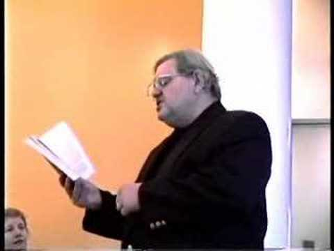 """Patrick Tull Reads from """"The Reverse of the Medal"""" by Patric"""
