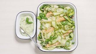 SKONIO IŠŠŪKIS | Traškios salotos su vištiena ir avokadų padažu | 2020