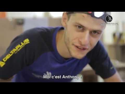 Vidéo Métiers Menuisier Olympiades
