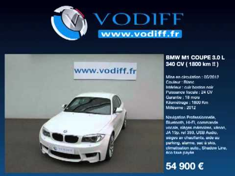 vodiff bmw occasion alsace bmw m1 coupe 3 0 l 340 cv 1800 km youtube. Black Bedroom Furniture Sets. Home Design Ideas