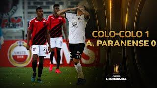 Colo-Colo vs. Athlético Paranaense [1-0] | RESUMEN | CONMEBOL Libertadores 2020