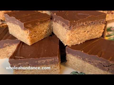 Plant-Based Chocolate Peanut Butter Bars