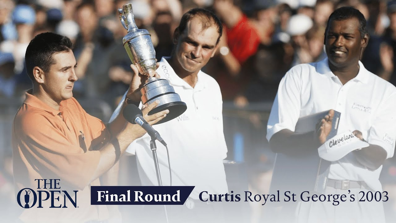 Ben Curtis - Final Round in full | The Open at Royal St George's 2003