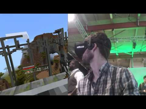 Minecraft with the Oculus Rift