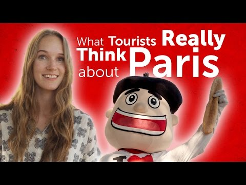 What Tourists REALLY Think about Paris - Paris in 1 Word