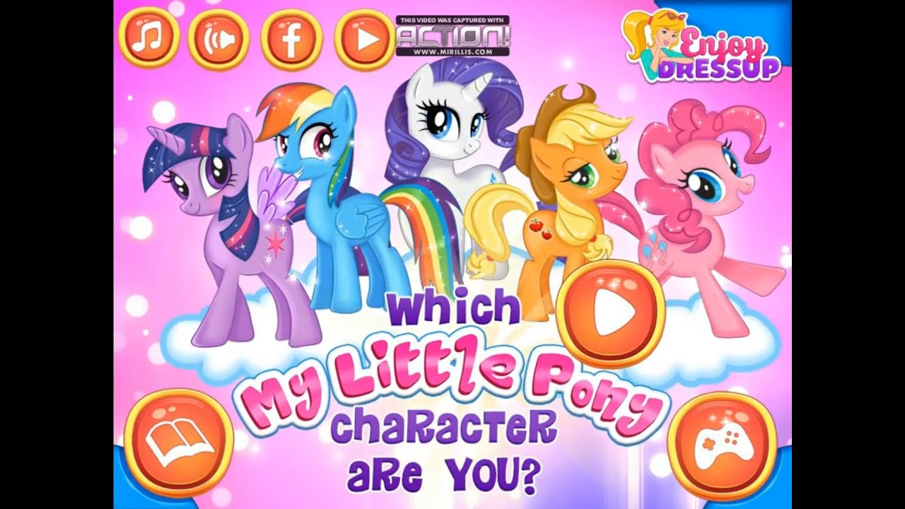 My Little Pony Game - Which My Little Pony Character Are ...