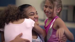 Barbie I Walmart with Laurie Hernandez