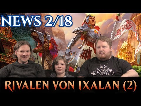 Magic News 2-18 Rivalen von Ixalan deutsch traderonlinevideo MTG Trader TOV trader-online.de