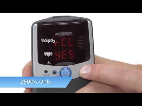nonin-palmsat-2500/2500a-pulse-oximeter:-set-up/alarms