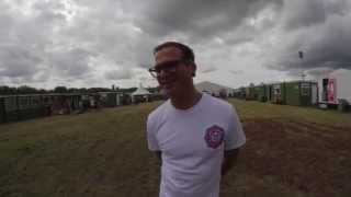 Backstage At Download Festival With Joel From The Amity Affliction