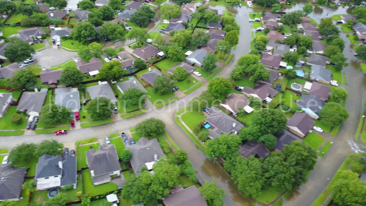 The Woodlands Texas Flooding >> Hurricane Harvey Flooding - Baytown | Doovi