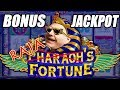 8 FREE GAMES ✦ BONUS ROUND JACKPOT! ➡ Pharaoh's Fortune Slot Machine | The Big Jackpot