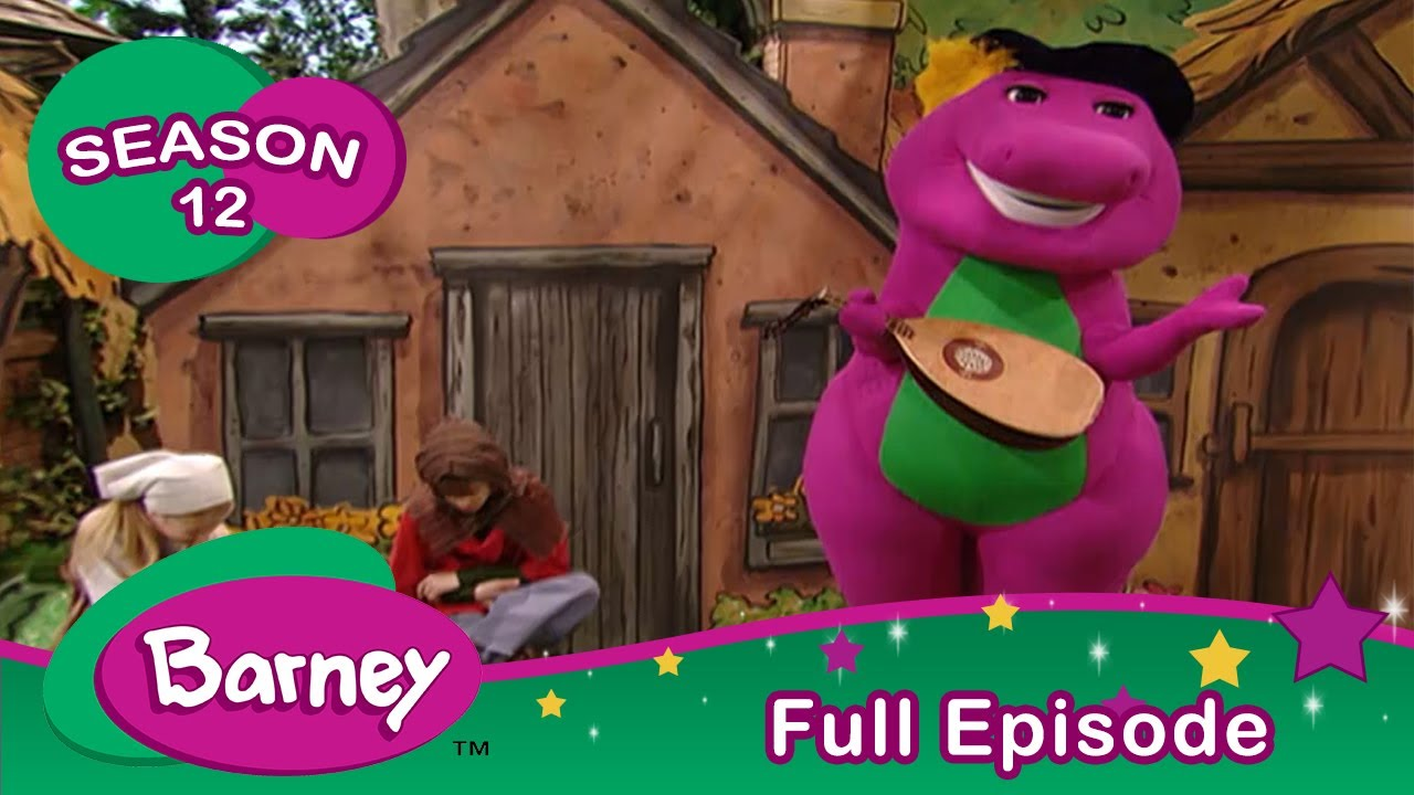 Download Barney |The Reluctant Dragon: A Fairy Tale Adventure |Full Episode | Season 12