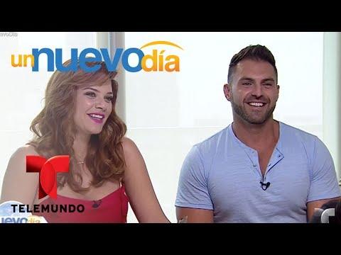 ¡Angélica Celaya con novio nuevo y embarazada!  Un Nuevo Día  Telemundo