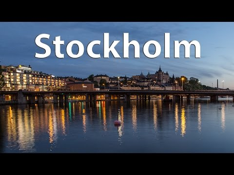 Stockholm - The majestic capital of Scandinavia (timelapse) - 4k