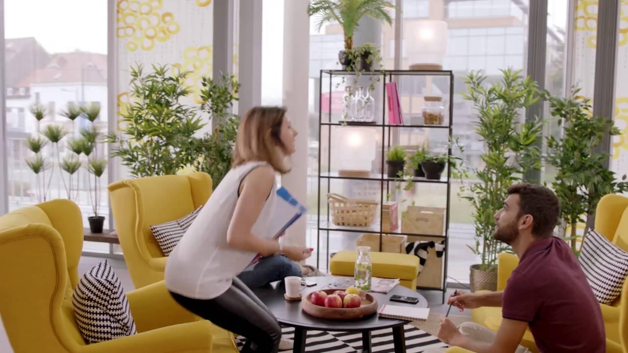 Ikea Business Laménagement Des Espaces De Travail à Rtl Belgium