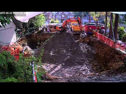ShedCam Timelapse - Excavation