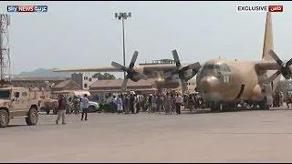 إعادة فتح مطار عدن ووصول طائرة سعودية