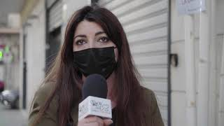 La protesta silenziosa dei commercianti: «Abbandonati e uccisi dallo Stato. Siamo allo stremo»