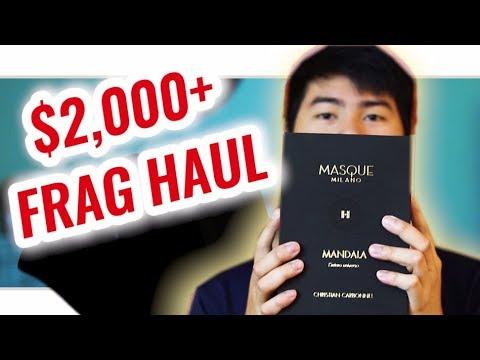 $2000 FRAGRANCE HAUL 😱🔥 Esxence Fragrance Event 2019 👍😁 Best Fragrances