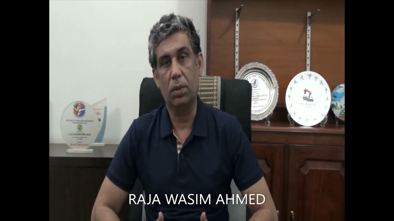 Council Candidate No.16 16. Raja Wasim AHMED (Pakistan)