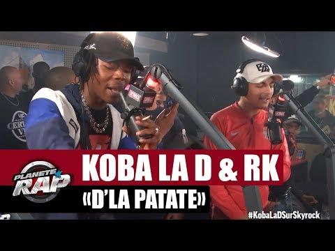Koba LaD & RK - Freestyle 'D'la patate' #PlanèteRap