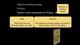 how to write a formal business email in english mp4