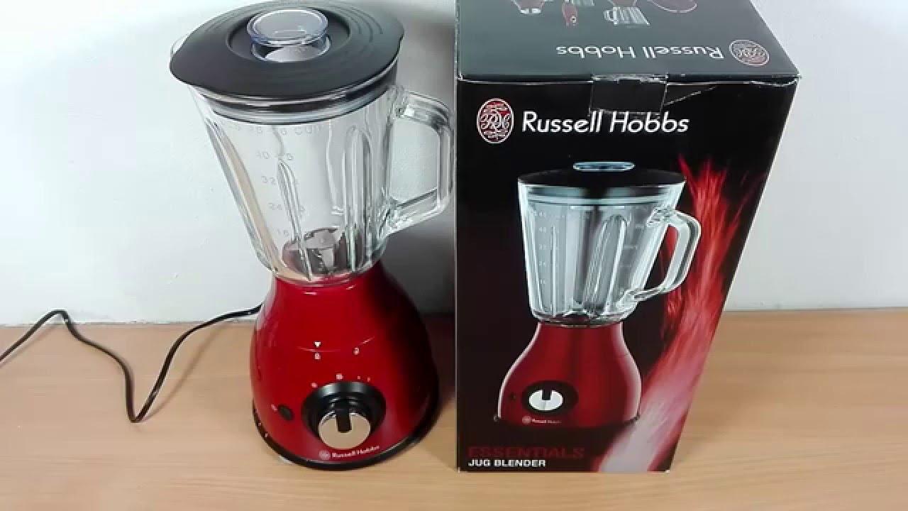 russell hobbs standmixer und smoothie maker mixer deutsch azonunboxing amazonhaul youtube. Black Bedroom Furniture Sets. Home Design Ideas