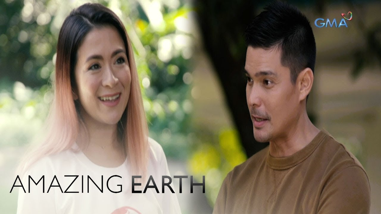 Amazing Earth: Dingdong Dantes interviews Antoinette Taus about her humanitarian work (w/ subtitles)