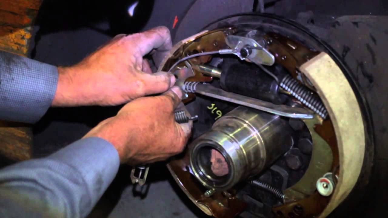How to fix forklift brakes  YouTube