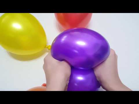 Baby Balloon Song for Learning Colors with Finger Family Nursery Rhymes