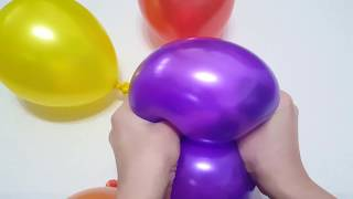 Baby Balloon Song for Learning Colors with Finger Family Rhymes