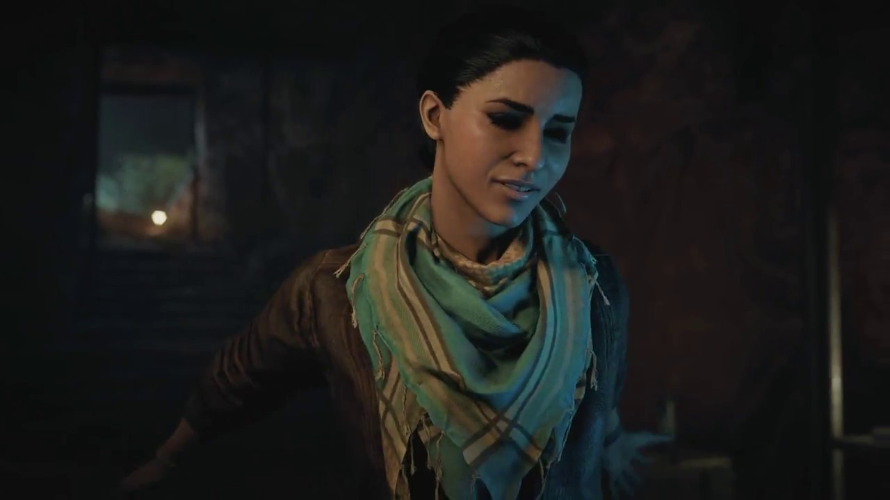 Assassin S Creed Origins Layla Hassan First Gameplay And Desmond