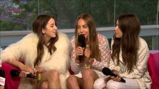 Video HAIM - Interview (Glastonbury 2014) download MP3, 3GP, MP4, WEBM, AVI, FLV Januari 2018