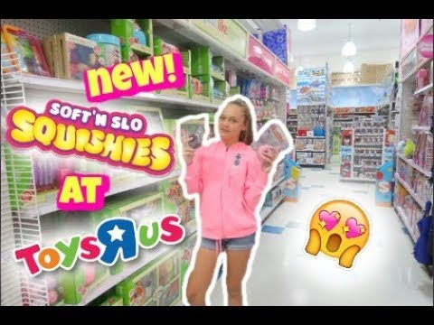 Squishy Pops At Toys R Us : NEW SOFT N SLO SQUISHIES AND CRUNCHY SLIME KITS AT TOYS R US! - PlusYoutube.xyz