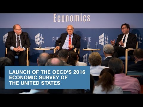 Launch of the OECD's 2016 Economic Survey of the United States