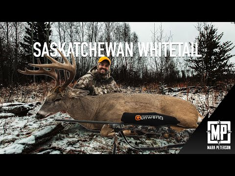 Whitetail Deer: Saskatchewan Canada   Mark V Peterson Hunting
