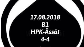 Juniori-Ässät - B1-joukkue - 17.08.2018 HPK-Ässät Maalikooste