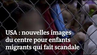 Etats-Unis : de nouvelles images du centre pour enfants migrants qui fait scandale Mp3