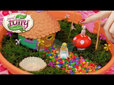 DIY Miniature Magical Fairy Garden - How To Make My Fairy Garden