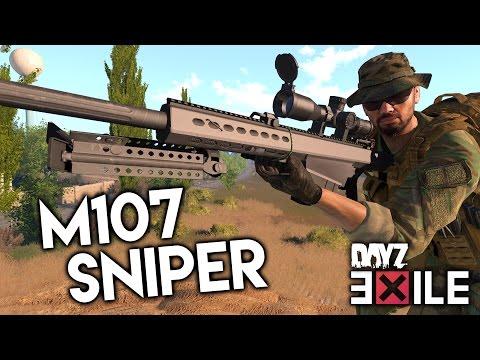 » M107 SNIPER! « Tod aus großer Distanz in Arma 3 DayZ Exile