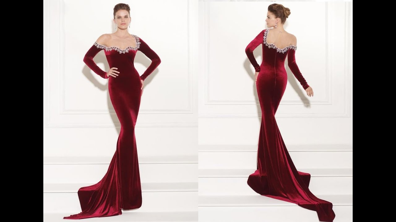 Tarik Ediz Prom Dress 92450 - YouTube